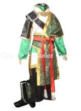 真・三國無双7  関平 肩造型なし 風 コスプレ 衣装 通販 オーダーメイド