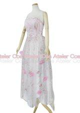 お客様オリジナル あゆ ロックンロールサーカスのピンクのバラのワンピース 風 コスプレ 衣装 通販 オーダーメイド