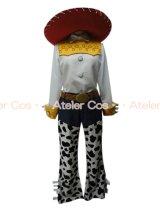 お客様オリジナル商品 DL トイストーリージェシー 風 コスプレ 衣装 通販 オーダーメイド