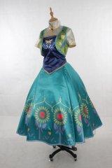 アナと雪の女王  2015 Fever ANNA Dress 風 コスプレ 衣装 通販 オーダーメイド