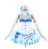 Reゼロから始まる異世界生活レムウエディングドレス 風 コスプレ 衣装 通販 オーダーメイド