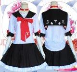 萌え系可愛い猫の女子高生制服 風 コスプレ 衣装 通販 オーダーメイド