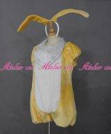 イースターワンダーランド風 ミスバニー タイプ 着ぐるみ miss bunny 黄色 風 コスプレ 衣装 通販 オーダーメイド