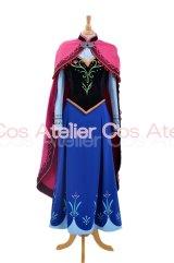 forzen アナと雪の女王 アナ 風 コスプレ 衣装 通販 オーダーメイド