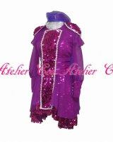 ももいろクローバーZ紫ライブ 風 コスプレ 衣装 通販 オーダーメイド