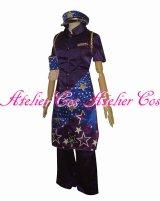 ももクロ男祭り2015太宰府 紫 高城れに 風 コスプレ 衣装 通販 オーダーメイド