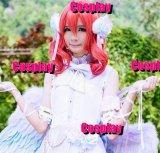 ラブライブ西野木真姫ウィッグ 風 コスプレ 衣装 通販 オーダーメイド