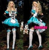 ハロウィン 不思議の国のアリス メイドドレス 風 コスプレ 衣装 通販 オーダーメイド
