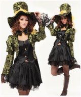 ハロウィン 不思議の国のアリス マッドハンターモチーフ 風 コスプレ 衣装 通販 オーダーメイド