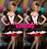 ハロウィン 不思議の国のアリス ハートの女王 風 コスプレ 衣装 通販 オーダーメイド