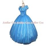 2015映画 シンデレラ 青いドレス 風 コスプレ 衣装 通販 オーダーメイド